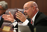 Nevada Assemblyman Ira Hansen, R-Sparks, works in committee at the Legislative Building in Carson City, Nev., on Tuesday, March 3, 2015. <br /> Photo by Cathleen Allison