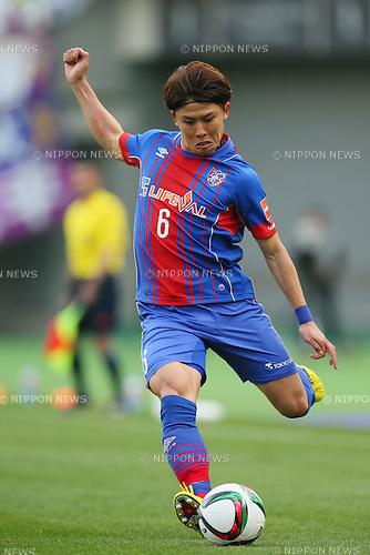 Kosuke Ota (FC Tokyo), <br /> APRIL 18, 2015 - Football /Soccer : <br /> 2015 J1 League 1st stage match <br /> between F.C. Tokyo 1-2 Sanfrecce Hiroshima <br /> at Ajinomoto Stadium, Tokyo, Japan. <br /> (Photo by YUTAKA/AFLO SPORT) [1040]