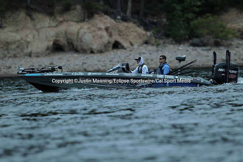 August 21, 2015: Shinichi Fukae before day two of the Forrest Wood Cup on Lake Ouachita in Hot Springs, AR. Justin Manning/ESW/CSM
