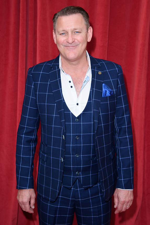Chris Walker<br /> arriving for the British Soap Awards 2018 at the Hackney Empire, London<br /> <br /> ©Ash Knotek  D3405  02/06/2018
