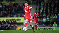 Paul Downing of MK Dons in action during Forest Green Rovers vs MK Dons, Carabao Cup Football at The New Lawn on 8th August 2017