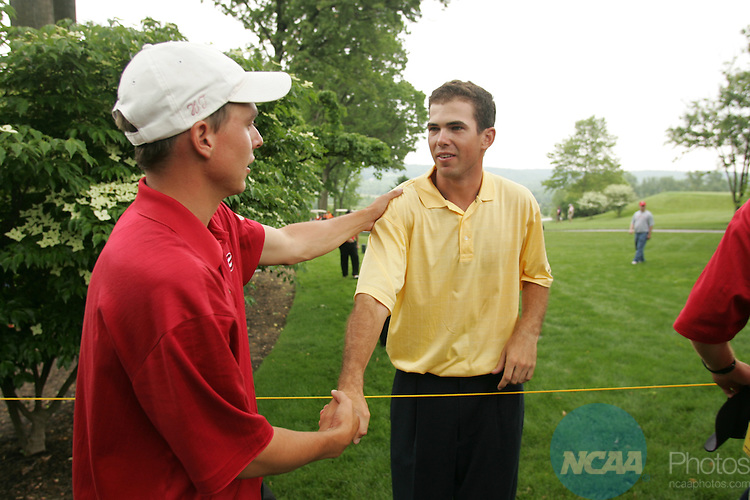 04 JUN 2004:  The Division I Men's Golf Championship takes place at the Caves Valley Golf Club in Baltimore, MD.  Jamie Schwaberow/NCAA Photos