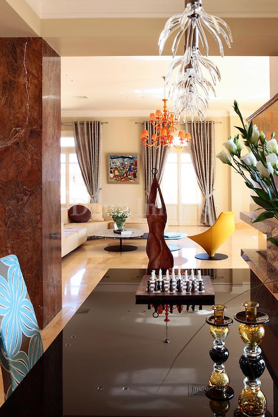 modern luxury dining room