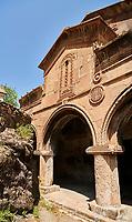 Picture & image of the medieval Sapara Monastery Georgian Orthodox monastery church of St Saba, 13th century, Akhaltsikhe, Georgia.