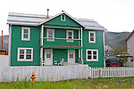 Images of downtown Dawson City, The Yukon Territory, Canada