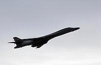 B1b Bomber flyover.