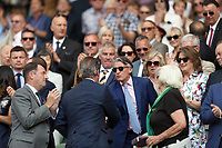 LONDON, ENGLAND - JULY 06: Lord Sebastian Coe attend day five of the Wimbledon Tennis Championships at the The All England Lawn Tennis Club on July 6, 2018 in London, England<br /> CAP/MPI122<br /> &copy;MPI122/Capital Pictures