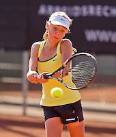 Netherlands, Rotterdam August 07, 2015, Tennis,  National Junior Championships, NJK, TV Victoria,  Bente Spee<br /> Photo: Tennisimages/Henk Koster