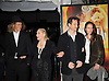 "Lauren Bacall and son Sam Robards and wife and grandson..posing for photographers at The New York Movie Premiere of ""Australia"" on November 24, 2008 at The Ziegfeld Theatre. ....Robin Platzer, Twin Images....212-935-0770"