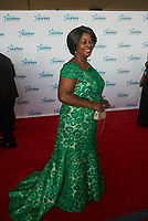 "ST. PAUL, MN JULY 16: Madam Esther Lungu, First Lady of Zambia, poses on the red carpet at the Starkey Hearing Foundation ""So The World May Hear Awards Gala"" on July 16, 2017 in St. Paul, Minnesota. Credit: Tony Nelson/Mediapunch"