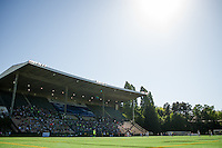 Seattle, WA - Sunday, May 1, 2016: A National Women's Soccer League (NWSL) match at Memorial Stadium between Seattle Reign FC and FC Kansas City. Seattle won 1-0.