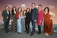 "NORTH HOLLYWOOD, CA - MAY 10: Kevin Pollak, Mikey Madison, Hannah Alligood, Olivia Edward, Pamela Adlon, Diedrich Bader, Melanie McFarland, Rebecca Metz, at FYC  Event For Season 3 Of FX's ""Better Things"" at Saban Media Center in North Hollywood, California on May 10, 2019. <br /> CAP/MPIFS<br /> ©MPIFS/Capital Pictures"