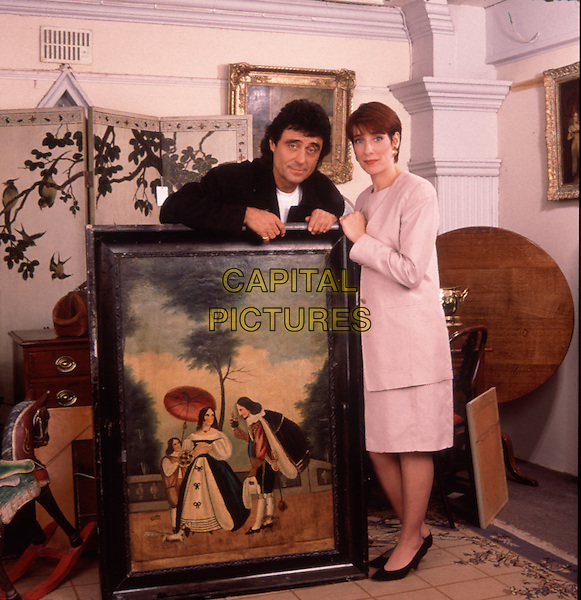 Ian McShane & Phyllis Logan  .in Lovejoy.*Filmstill - Editorial Use Only*.CAP/PLF.Supplied by Capital Pictures.