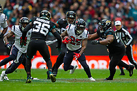 3rd November 2019; Wembley Stadium, London, England; National Football League, Houston Texans versus Jacksonville Jaguars; Running Back Duke Johnson of Houston Texans runs with the ball - Editorial Use