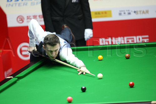 Mar 30, 2011; Beijing, CHINA; Mark Selby defeats Tian Pengfei 5:3 in the first round at the Bank of Beijing 2011 World Snooker China Open.