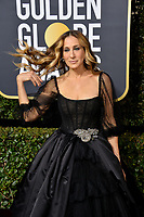 Sarah Jessica Parker at the 75th Annual Golden Globe Awards at the Beverly Hilton Hotel, Beverly Hills, USA 07 Jan. 2018<br /> Picture: Paul Smith/Featureflash/SilverHub 0208 004 5359 sales@silverhubmedia.com