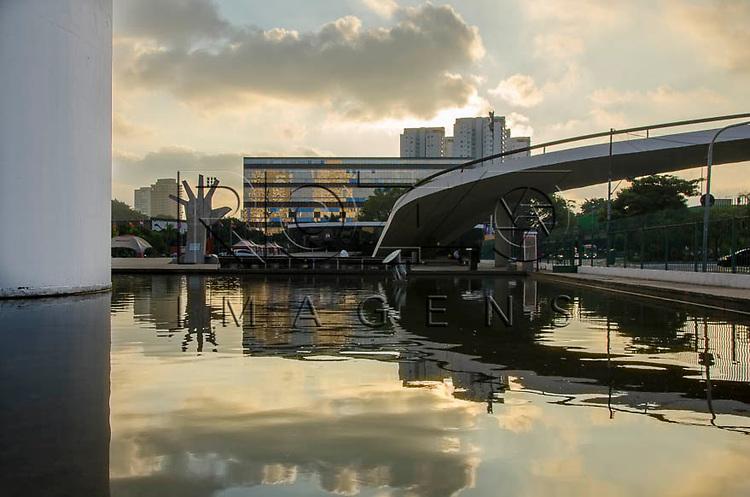 Memorial da América Latina - projetado por Oscar Niemeyer, São Paulo - SP, 04/2014.