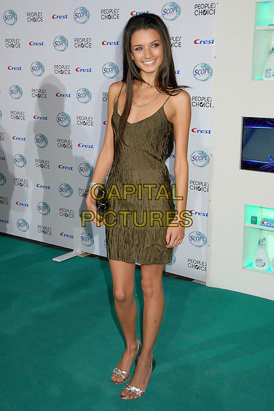 ALICE GRECZYN.34th Annual People's Choice Awards Nominations Announcements Party at Area Nightclub, West Hollywood, California, USA, 8 November 2007..full length.CAP/ADM/BP.©Byron Purvis/AdMedia/Capital Pictures.