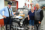 The Roughty Valley Vintage Club Kilgarvan hosted an old village fair on Saturday in Kilgarvan and pictured here checking out an early 60's Garda car are Betty and Sidney Kingston with retired Garda Tom McDonald.