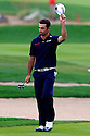 Gary Stal (FRA) in action during the final round of the Abu Dhabi HSBC Golf Championship played at Abu Dhabi Golf Club, UAE 16-19 January 2014.(Picture Credit / Phil Inglis)