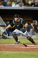 Bradenton Marauders catcher Jin-De Jhang (47) during a game against the Charlotte Stone Crabs on April 4, 2014 at Charlotte Sports Park in Port Charlotte, Florida.  Bradenton defeated Charlotte 9-1.  (Mike Janes/Four Seam Images)
