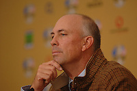 18th September, 2006. Dublin Ireland. Ryder Cup press Conference at the K club..American Ryder cup team captain Tom Lehman gives a press conference at the above..Photo: Barry Cronin/ Newsfile.
