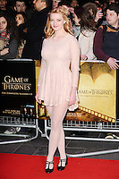"Dakota Blue Richards<br /> at the ""Game of Thrones Hardhome"" gala screening, Empire, Leicester Square London<br /> <br /> <br /> ©Ash Knotek  D3098 12/03/2016"