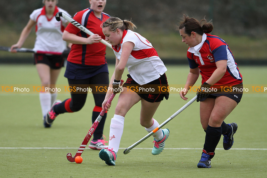 Brentwood HC Ladies 2nd XI vs Havering HC Ladies - Essex Hockey League at Sawyers Hall Lane - 21/03/15 - MANDATORY CREDIT: Mick Kearns/TGSPHOTO - Self billing applies where appropriate - contact@tgsphoto.co.uk - NO UNPAID USE