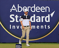 Bernd Wiesberger (AUT) on the 14th tee during Round 3 of the Aberdeen Standard Investments Scottish Open 2019 at The Renaissance Club, North Berwick, Scotland on Saturday 13th July 2019.<br /> Picture:  Thos Caffrey / Golffile<br /> <br /> All photos usage must carry mandatory copyright credit (© Golffile | Thos Caffrey)