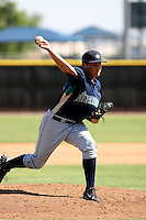 Chris Kirkland / Seattle Mariners 2008 Instructional League..Photo by:  Bill Mitchell/Four Seam Images