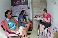 CAMPINAS, SP 16.10.2018-OUTUBRO ROSA-Em parceria com a FPF (Federação Paulista de Futebol), o Guarani realizará uma ação para prevenção do Câncer de Mama. Nos dias 15 e 16 de Outubro, uma unidade móvel fará atendimentos mediante agendamento, para todas as mulheres no Estádio Brinco de Ouro, na cidade de Campinas, interior de São Paulo. (Foto: Denny Cesare/Codigo19)