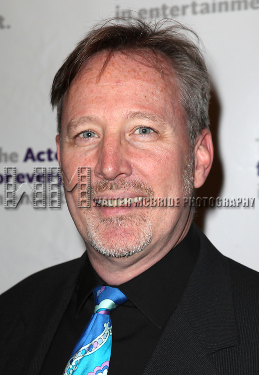 John McDaniel.attending the Actors Fund Gala honoring Harry Belafonte, Jerry Stiller, Anne Meara & David Steiner at the Mariott Marquis Hotel in New York City on 5/21/12