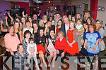 Double Celebration.Niamh O'Connor, Ballymac, Tralee and Elise O'Connell, Alderwood Rd, Tralee (seated 2nd and 3rd Lt) had a cracking time celebrating their 18th birthdays last Saturday night in the Slievemish bar, Tralee surrounded by many friends and family.