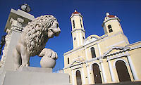 07 FEB 2003 - CIENFUEGOS, CUBA - Catedral de la Purisma Concepcion (PHOTO (C) NIGEL FARROW)