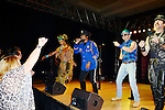 HOLLYWOOD, FL - OCTOBER 25: Felipe Rose, Ray Simpson, Bill Whitefield and Eric Anzalone of The Village People perfoms at the 13th Annual Footy's Bubbles & Bones Gala at Westin Diplomat Resort and Spa on October 25, 2013 in Hollywood, Florida. (Photo by Johnny Louis/jlnphotography.com)