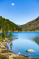 Austria, East-Tyrol: lake Obersee in Defereggen Valley, below Staller Sattel passroad   Oesterreich, Ost-Tirol: der Obersee im Defereggental unterhalb des Staller Sattel