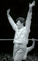 Liberace at Wrestlemania 1 in 1985<br /> Photo By Adam Scull/PHOTOlink.net