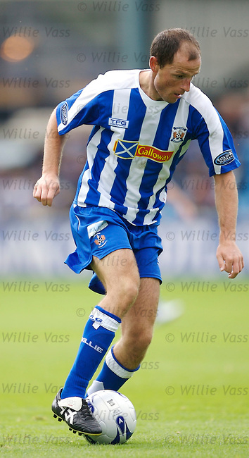 Alan Johnston, Kilmarnock.stock season 2006-2007.pic willie vass
