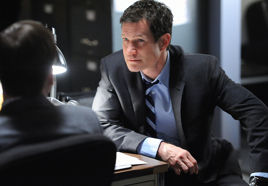 """Carrie?¢¬?¬?s Caller?¢¬?¬ù ?¢¬?¬?Al (Dylan Walsh) leads his team of detectives as they hunt for a serial killer who is taunting them with cryptic phone calls, on UNFORGETTABLE, on Tuesday, Feb 7 (10:00 ?¢¬?¬? 11:00 PM ET/PT) on the CBS Television Network Photo: David M. Russell/CBS ??¬©2012 CBS Broadcasting Inc.  #Unforgettable"