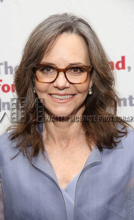 Sally Field attends The Actors Fund Annual Gala at the Marriott Marquis on 5/8//2017 in New York City.