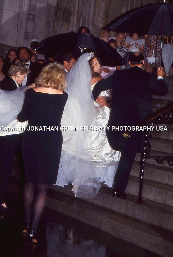 Mariah Carey &amp; Tommy Mottola Wedding 1993<br /> NYC By Jonathan Green