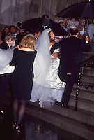 Mariah Carey & Tommy Mottola Wedding 1993<br />