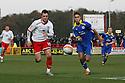 Chris Beardsley of Stevenage Adam Chicksen of Leyton Orient give chase.- Stevenage v Leyton Orient- npower League 1 - Lamex Stadium, Stevenage - 2nd January 2012  .© Kevin Coleman 2012