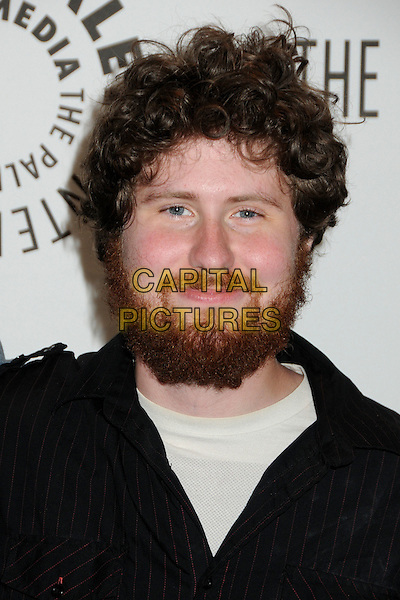 "CASEY ABRAMS.28th Annual Paley Center for Media's Paley Fest 2011 honoring ""American Idol"" held at The Saban Theatre, Beverly Hills, California, USA, .14th March 2011..portrait headshot black  beard facial hair .CAP/ADM/BP.©Byron Purvis/AdMedia/Capital Pictures."