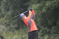 Louis Galvin O'Corroll (Kinsale) during the Connacht U14 Boys Amateur Open, Ballinasloe Golf Club, Ballinasloe, Galway,  Ireland. 10/07/2019<br /> Picture: Golffile | Fran Caffrey<br /> <br /> <br /> All photo usage must carry mandatory copyright credit (© Golffile | Fran Caffrey)