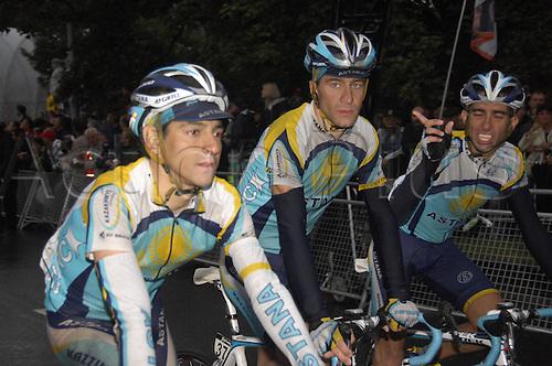 1st September 2009, Vuelta a Espana, Stage 4 Venlo - Liegi, Astana, Rubiera Jos. Photo: Stefano Sirotti/ActionPlus.