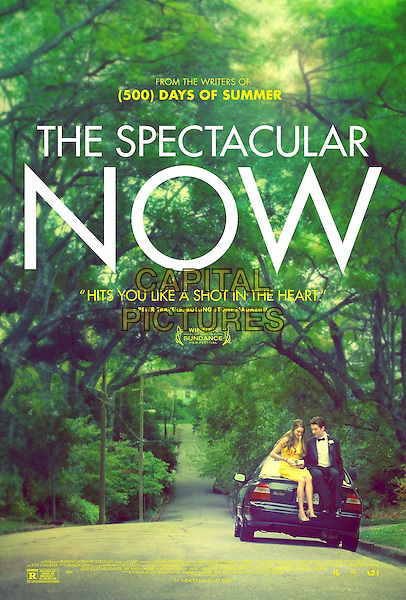 POSTER ART<br /> in The Spectacular Now (2013) <br /> *Filmstill - Editorial Use Only*<br /> CAP/FB<br /> Image supplied by Capital Pictures