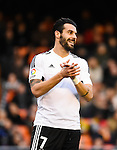 Valencia's  Alvaro Negredo  during Spanish King's Cup match. January 6, 2016. (ALTERPHOTOS/Javier Comos)