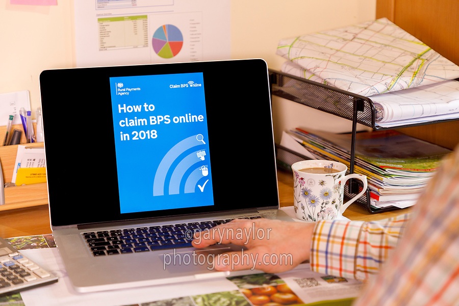 How to clain BPS online in 2018