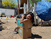 Volunteers Deliver Food In Hermosillo Amid Coronavirus Pandemic